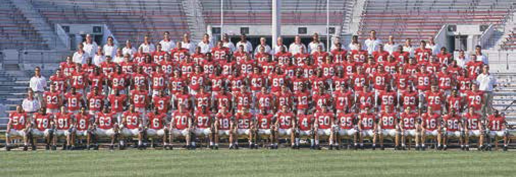 photo of ohio state football team